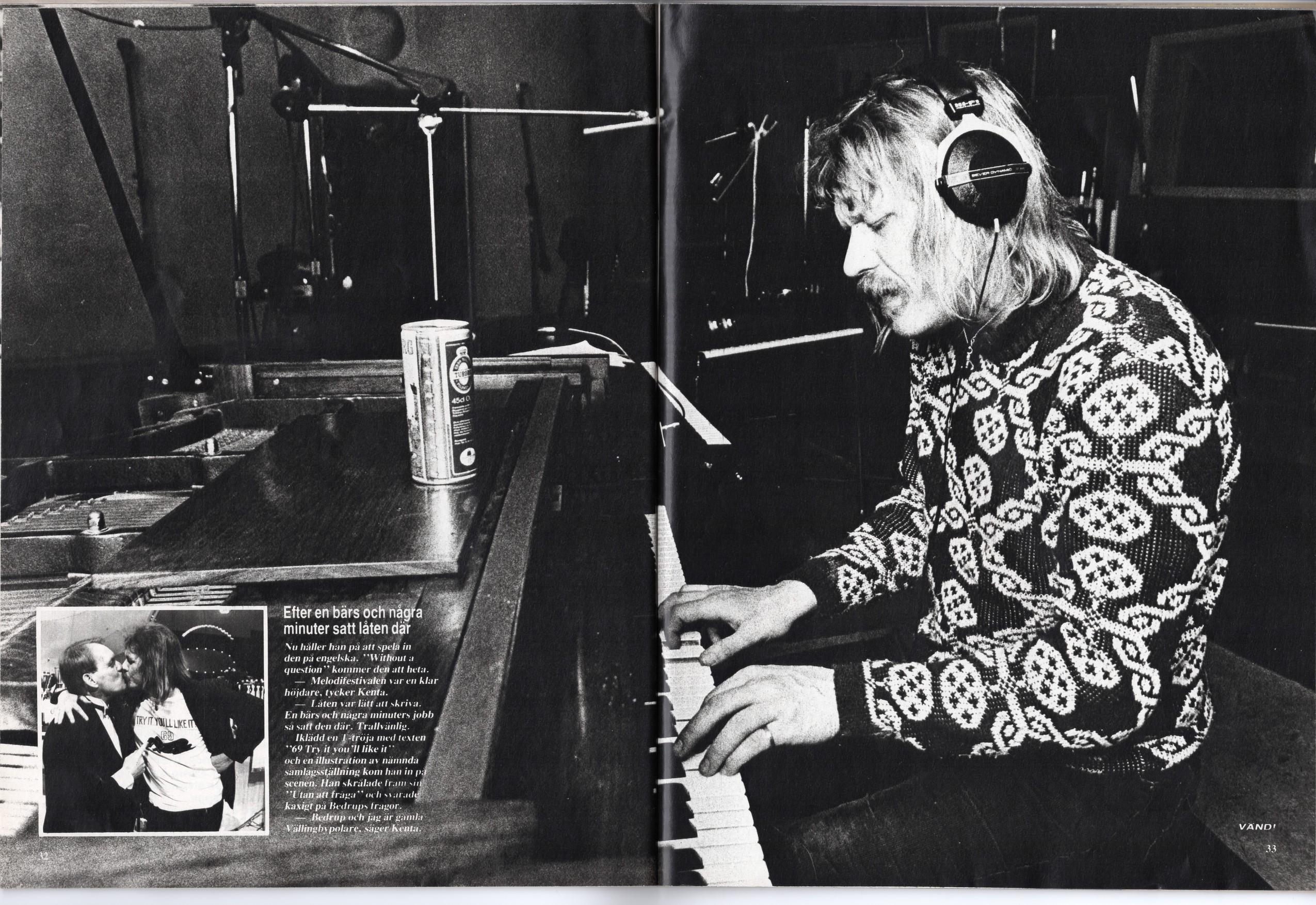 kenta melodifestivalen 1980