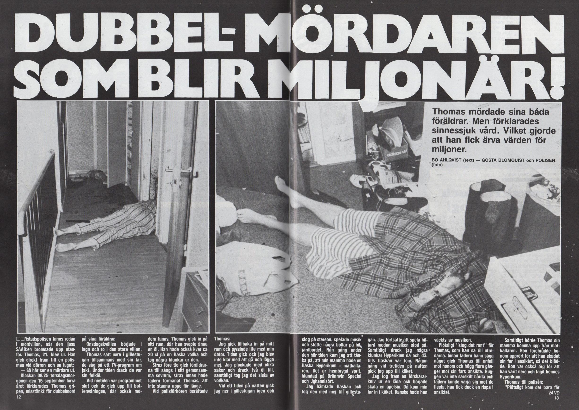 Nätdejting Mord Ystad