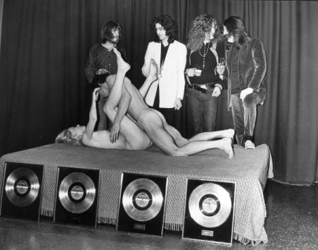 led_zeppelin_metronome_records_Stockholm_sweden_1973_live_sex_show_Chat_Noir_club